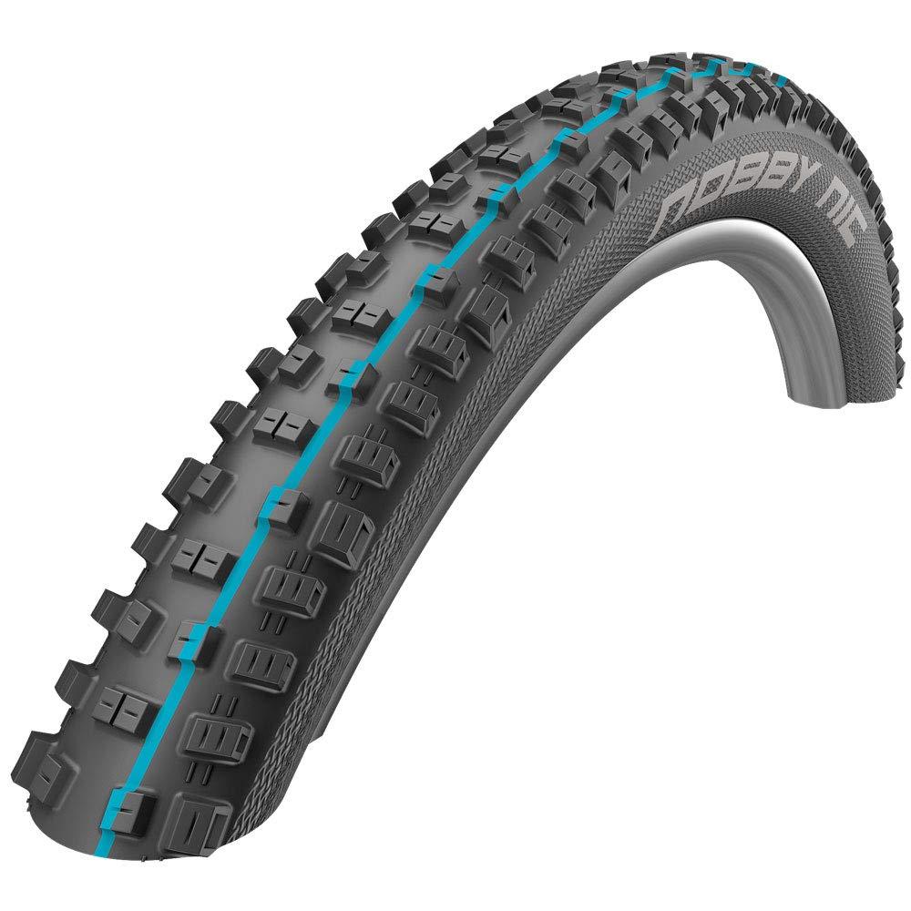 "SCHWALBE Nobby Nic Addix Folding Addix Speedgrip Snakeskin 67TPI 23-50PSI 765g Tire, Black, 29"" x 20/35"""