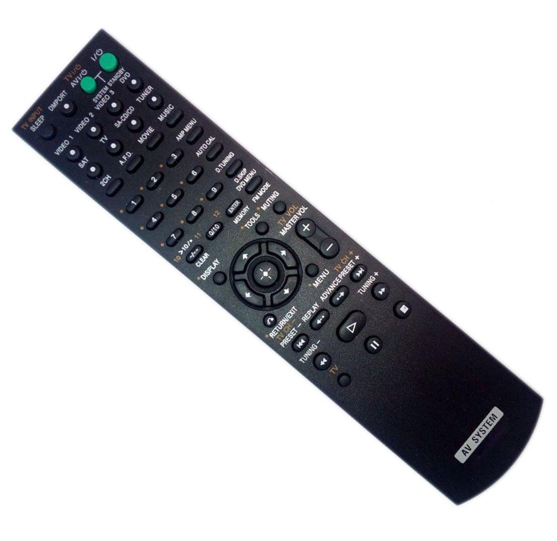 Replaced Remote Control for Sony RMAAU019 STR-DG710 RM-AAU006 STR-DG500 148009711 Home Theater Audio/Video Receiver AV System