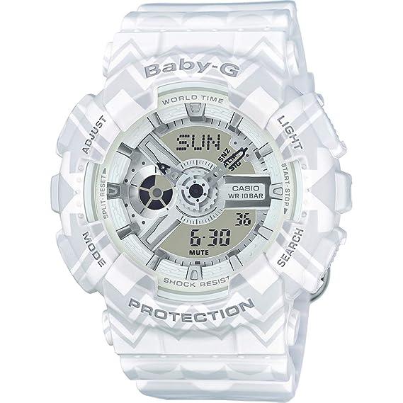 CASIO Reloj Analógico-Digital para Hombre de Cuarzo con Correa en Plástico BA-110TP-7AER: Amazon.es: Relojes