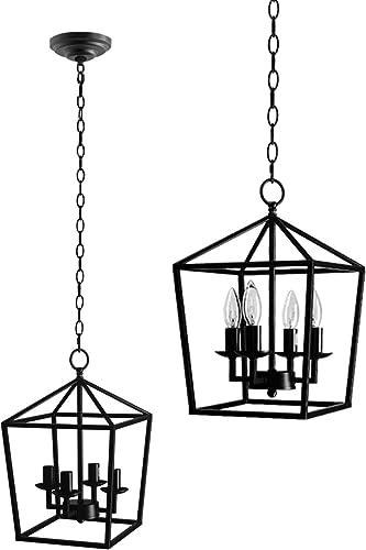 Contemporary 4 Light Chandelier Pendant Lighting