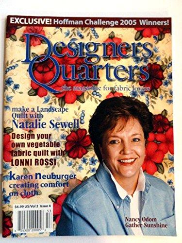 Designers Quarters the magazine for fabric lovers Vol 2 Issue (Designers Quarters Magazine)