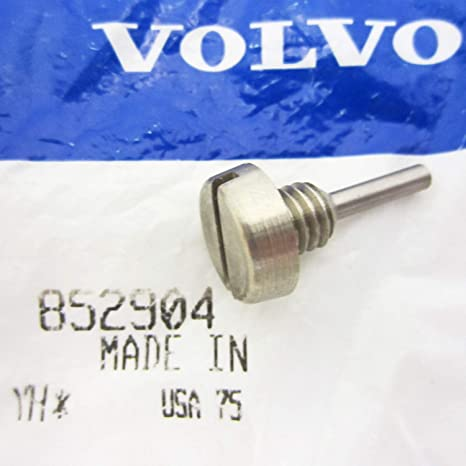 Amazon.com: Volvo Penta OEM Magnetic Gearcase Drain Plug 852904: Automotive