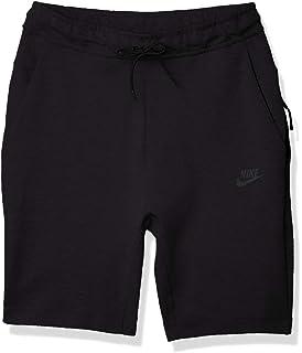 Amazon.com: Nike Mens Tech Fleece Shorts Black/Black 805160 ...