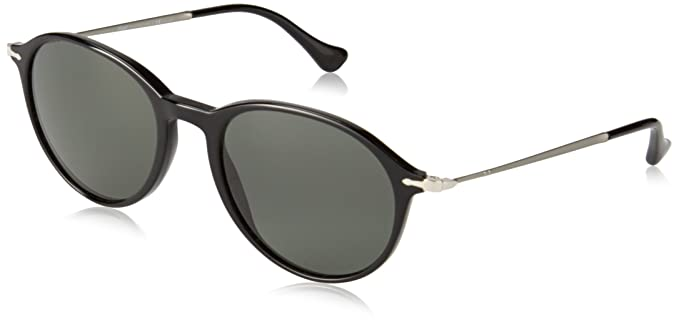 93159498fccaa Persol Men s PO3125S Sunglasses Black   Polar Grey 51mm at Amazon Women s  Clothing store