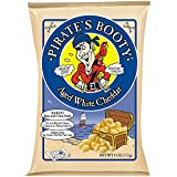 Pirate's Booty Snack Puffs, Aged White Cheddar, 4 Ounce (Pack of 12)