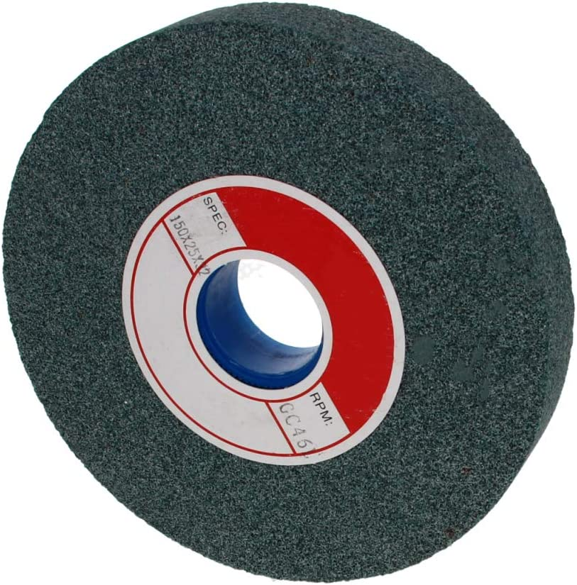 Utoolmart Grinding wheel 120 Grit Green Silicon Carbide for Hard and Brittle Materials Grinding