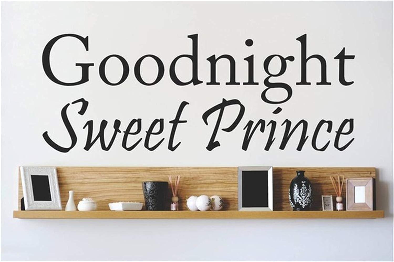 Amazoncom Dudumu Removable Vinyl Mural Decal Quotes Art Goodnight