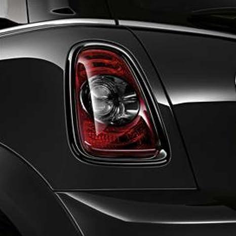 Mini Cooper/Cooper S opaco cola luz par de embellecedores para Hatchback, convertible,