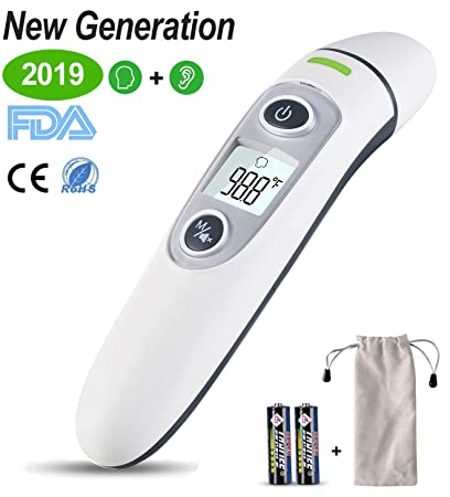 Dedicated 3-in-1 Infrared Forehead And Ear Thermometer Baby Children Adults Body Thermometer Digital Medical Thermometers
