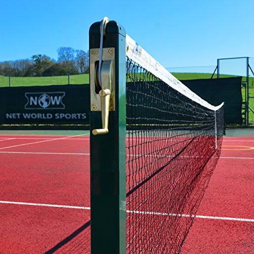 Steel Tennis Posts (ProCourt Square Tennis Court Posts[Optional Sockets] - Pair of Professional 3