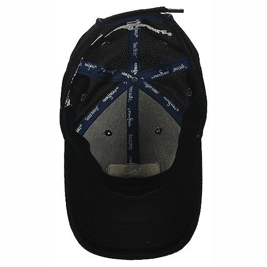 Amazon.com  Hook   Tackle Aqua Tech Cap Black One Size  Clothing f1173940805