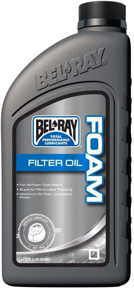 Bel-ray 99190-b1lw foam filter oil liter (99190-B1LW)