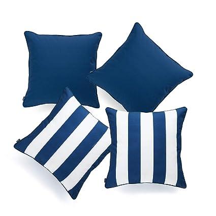 Amazoncom Hofdeco Indoor Outdoor Pillow Cover Only Water