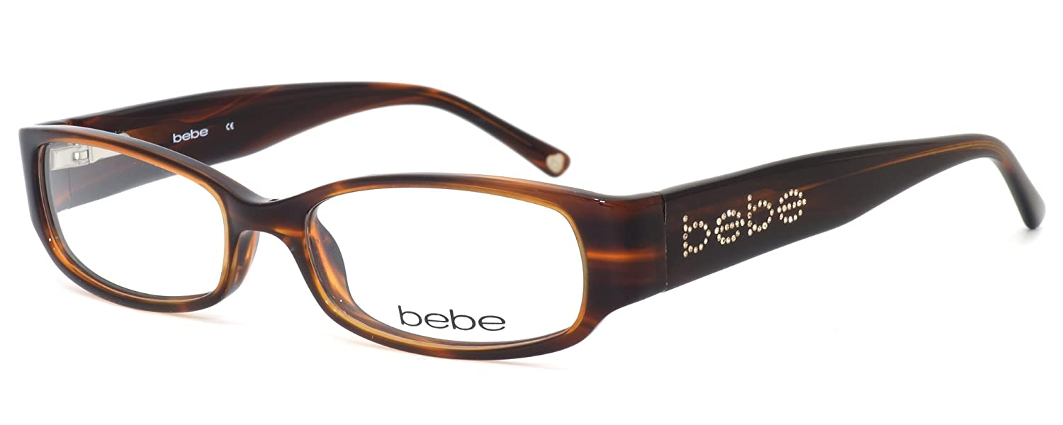 d399f6a3e2c7 Amazon.com  bebe Womens Designer Eyewear 5000 in Smoked Topaz   DEMO LENS  Eyeglasses  Clothing