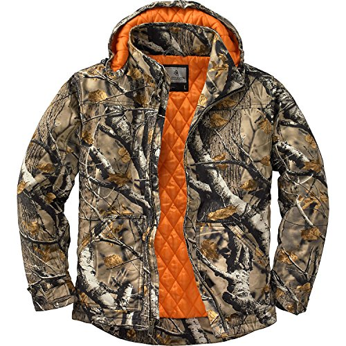 Legendary Whitetails Canvas Cross Trail Workwear Jacket Big Game Field Camo Medium