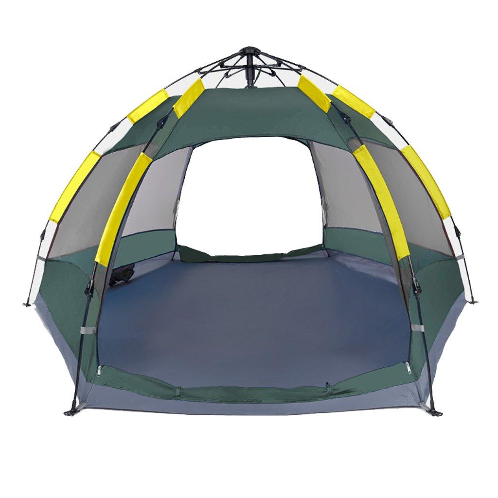 Zelt LINGZHIGAN Volles automatisches im Freienzelt, Das Frei ist, Um Geschwindigkeit zu Bauen, öffnen 3-4 Leute Ultra Helles Campingzelt Doppeltes regendichtes