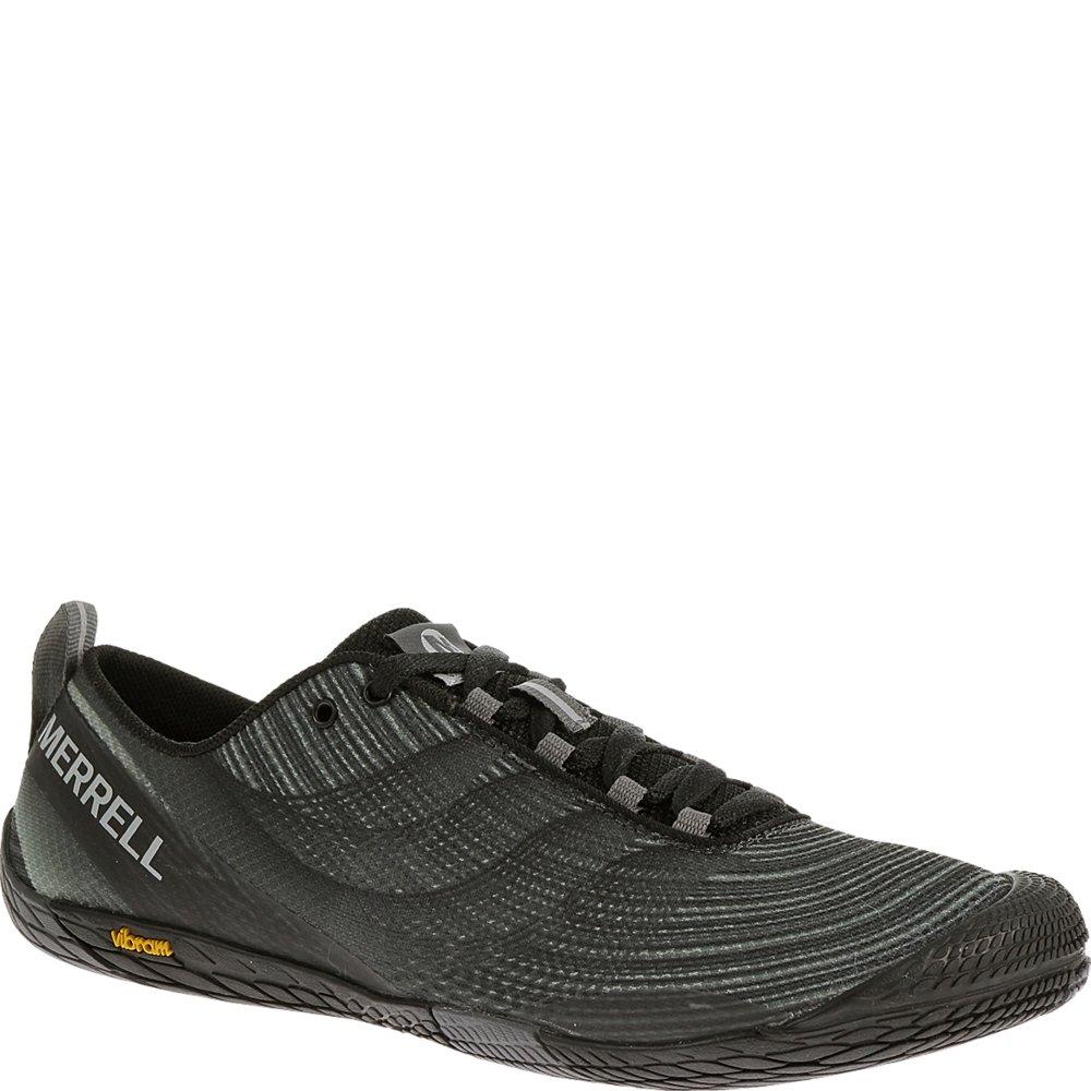 Merrell Men's Vapor Glove 2 Trail Running Shoe, Black/Castle Rock, 10.5 M US