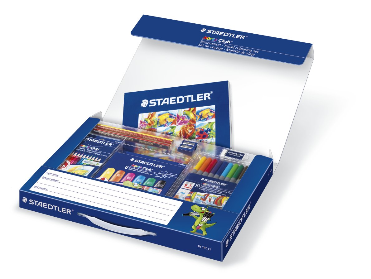 Staedtler Staedtler Staedtler 61 TCP L1 - Noris Club Reisemalset B004ILF5AM | Vogue