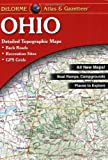Ohio Atlas and Gazetteer, DeLorme Map Staff, 0899332811