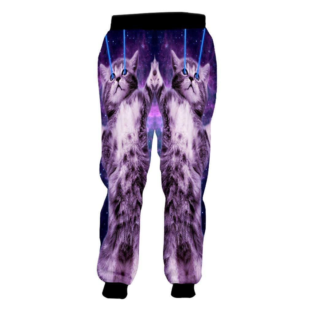 Bridfa Unisex Hiphop Streetwear Punk Harem Joggers Pantalones ...