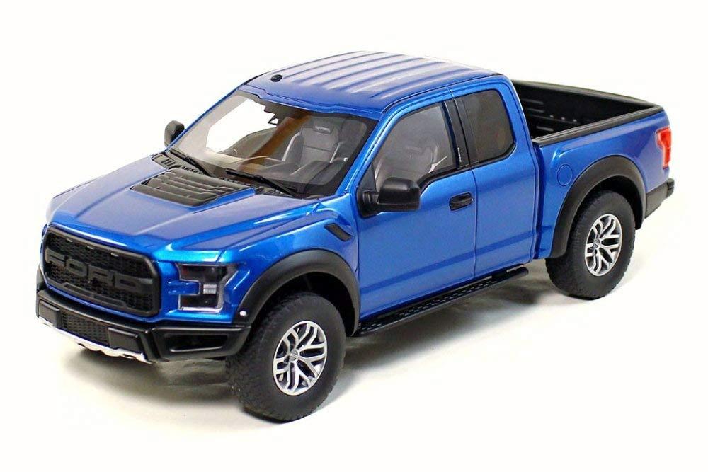 Blue Ford Raptor >> Amazon Com Gt Spirit 2017 Ford F 150 Raptor Blue Us009 1