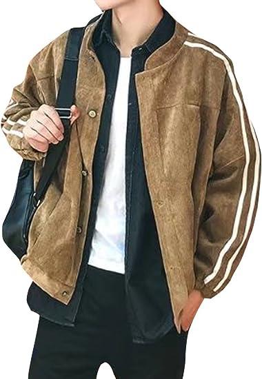 (ネルロッソ) NERLosso ブルゾン メンズ コーデュロイ ジャンパー スタジャン 大きいサイズ ミリタリージャケット ライダースジャケット 正規品 cmn24170