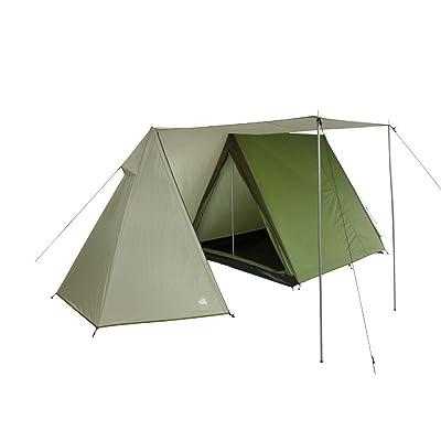 10T Outdoor Equipment 10T équipement d'extérieur étanche Mungaro Unisexe extérieur Cadre Tente Disponible en gris–3personnes