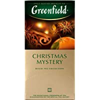 Greenfield, Christmas Mystery - Black Tea Collection, 25 sobres