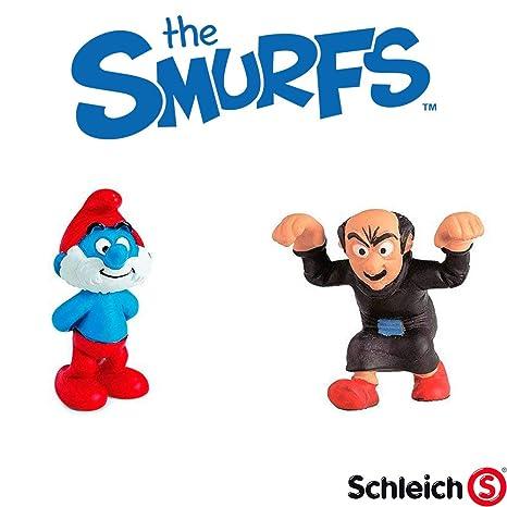 GargamelAmazon Figuras Incluido The Smurfs De Pack Y Papa 2 Smurf Nmwn80