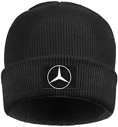 coolgood Mens Womens Beanie Hats Mercedes-Benz-Logo Stretchy Skull Cap