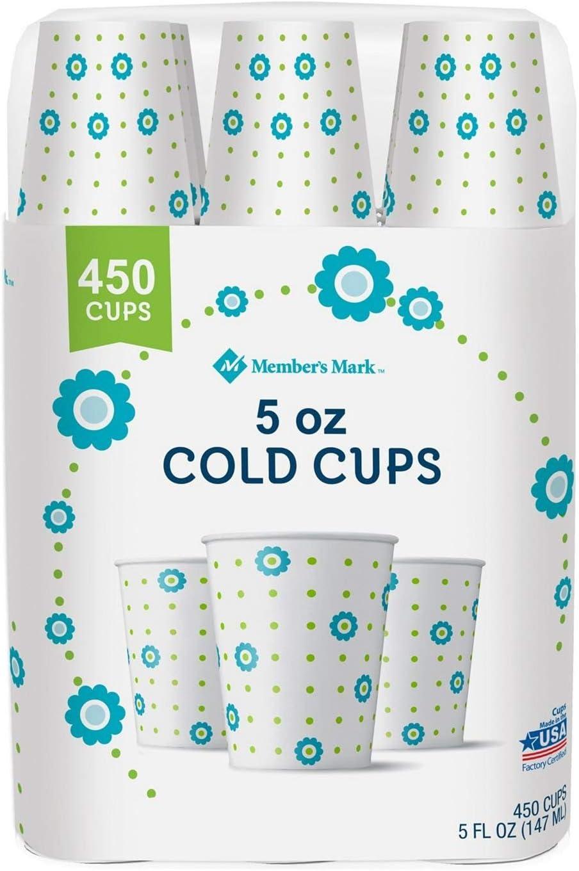 Member's Mark Bath Cup, 5 oz. (450 ct.) - 1 PACK