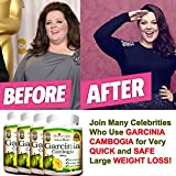 Garcinia Cambogia Extract Weight Loss Supplement - 100% Pure - 70% HCA - 1000 mg Capsules, 240 Diet Pills - All Natural, No Additives - Appetite Suppressant - Premium Lean Health Extract - Organic