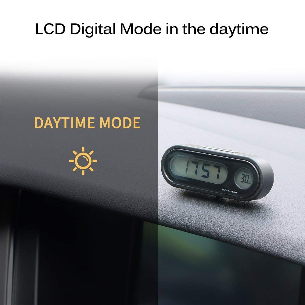 Car Digital Clock Thermometer