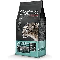 Optima Nova - Pienso para gatos adultos sterilised pollo y arroz