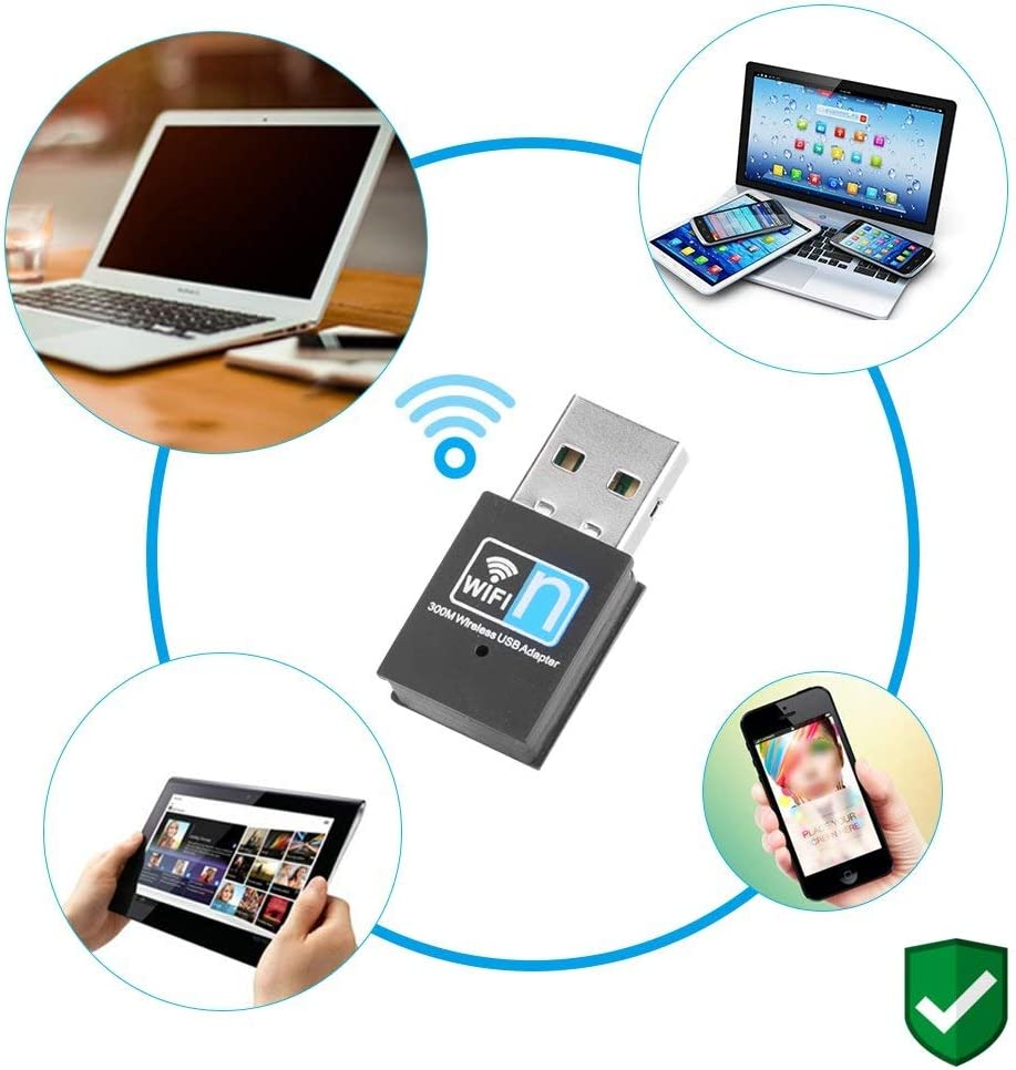 7-10 Mac WYKDL USB WiFi Adapter USB 3.0 WiFi ac Wireless Network Adapter with Dual Band 2.42GHz//5.8GHz//5dBi High Gain Antenna for Desktop Windows XP//Vista