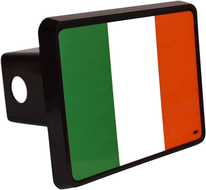 Rogue River Tactical Ireland Irish Flag Trailer Hitch Cover Plug Gift Idea