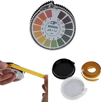 Caroline Philipson 1-14 Rouleau de test pH pour lacide alcalin lurine la peinture le contr/ôle pr/écis de la piscine la salive le sol