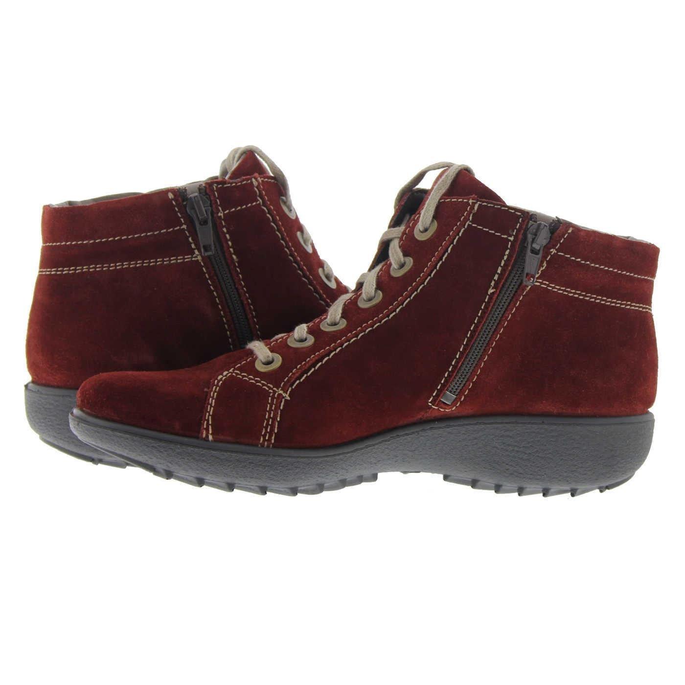 Romika Womens Nadja 136 Red Suede Boots 39 EU JoE0YM