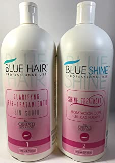Cirugía Capilar Blue Hair CÉLULAS MADRES 2 pasos (32 Oz) 946 ML SHAMPO-