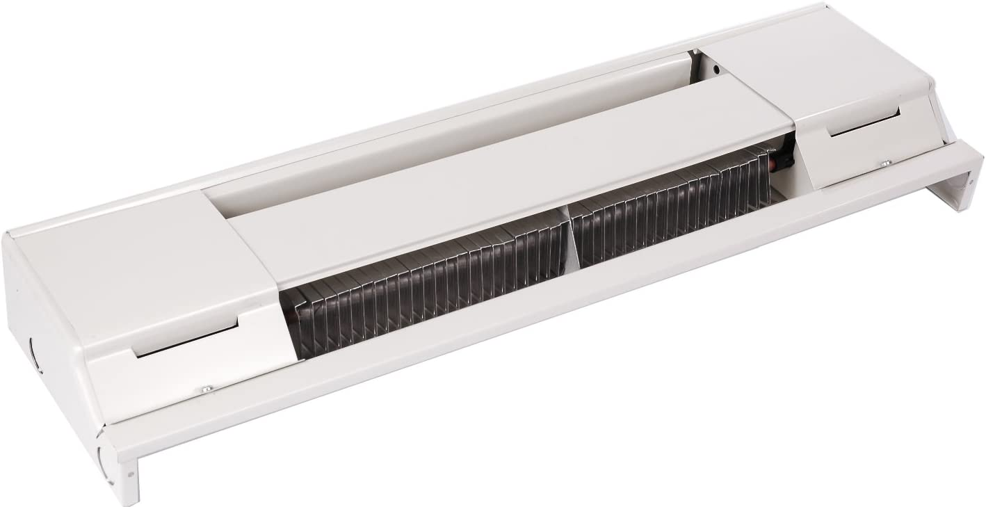 Q-Mark 2512W Electric Baseboard Heater With 400 Watts