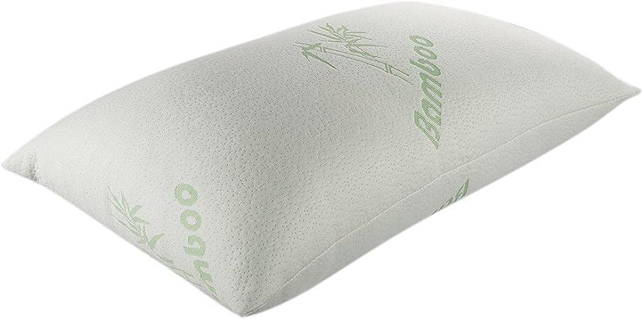 Tebery Luxury Memory Foam Bamboo Pillow