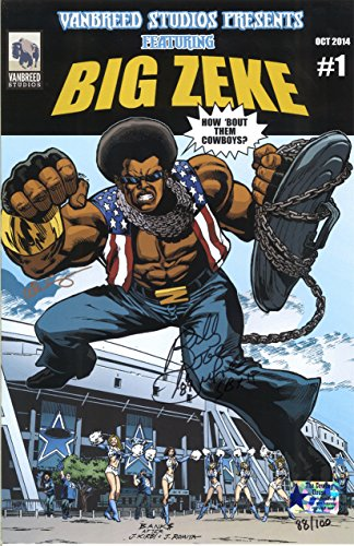 Vanbreed Studios, Big Zeke Issue #1 October 2014 Limited Edition Poster Autographed by Dallas
