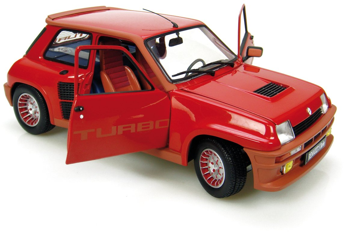 Amazon.com: Die-cast Model Renault 5 Turbo (1:18 scale in Red): Toys & Games