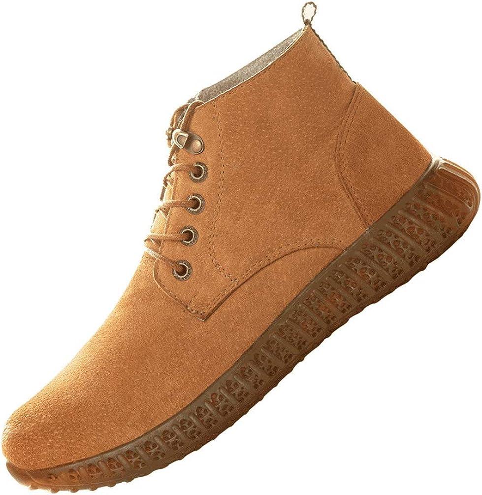 LXHK Zapatos de Seguridad para Hombre con Puntera de Acero Otoño ...