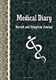 Medical Diary Record and Symptom Journal: Health Organizer, Health Tracker, Medical History Journal (Health Record Keeper)