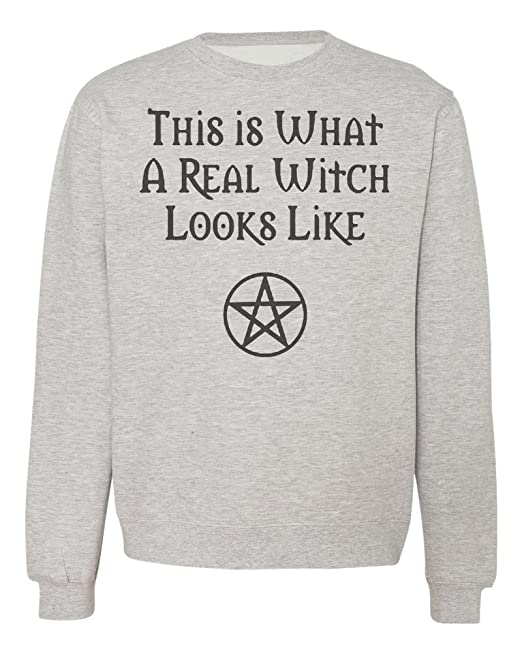 This Is What A Real Witch Looks Like Sudadera Unisex XX-Large: Amazon.es: Ropa y accesorios