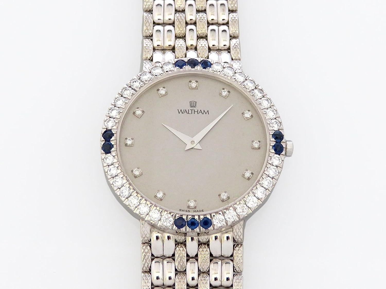 ウォルサム WALTHAM ウォルサム 452.10 シルバー文字盤 メンズ 腕時計 【中古】 B0784MS412