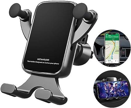 Supporto per Cellulare Auto Ventilazione Supporto Porta Telefono Auto Universale per iPhone 11 PRO // 11 // XS//XR//X Samsung S10 // S9 Autkors Supporto Auto Smartphone Huawei P20//P10