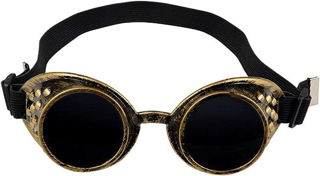 Occhiali da aviatore per adulti Steampunk Costume Accessorio