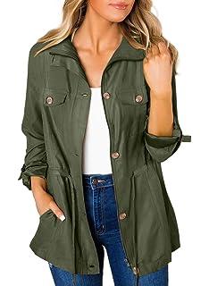 Amazon.com: Urban Look - Chaqueta con capucha para mujer ...